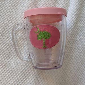 Palmetto tervis tumbler mug with lid